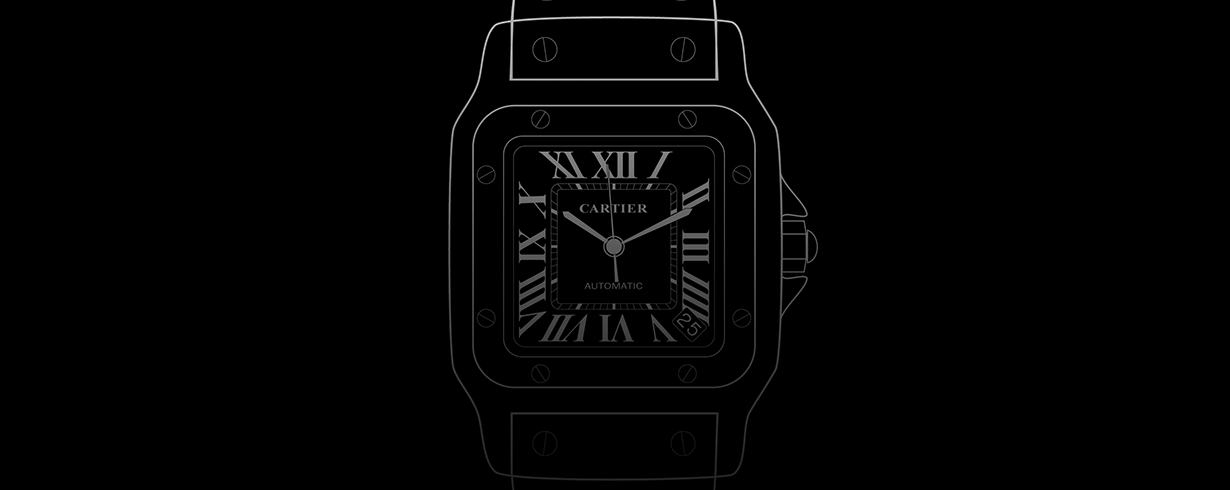 cartier santos replica watches